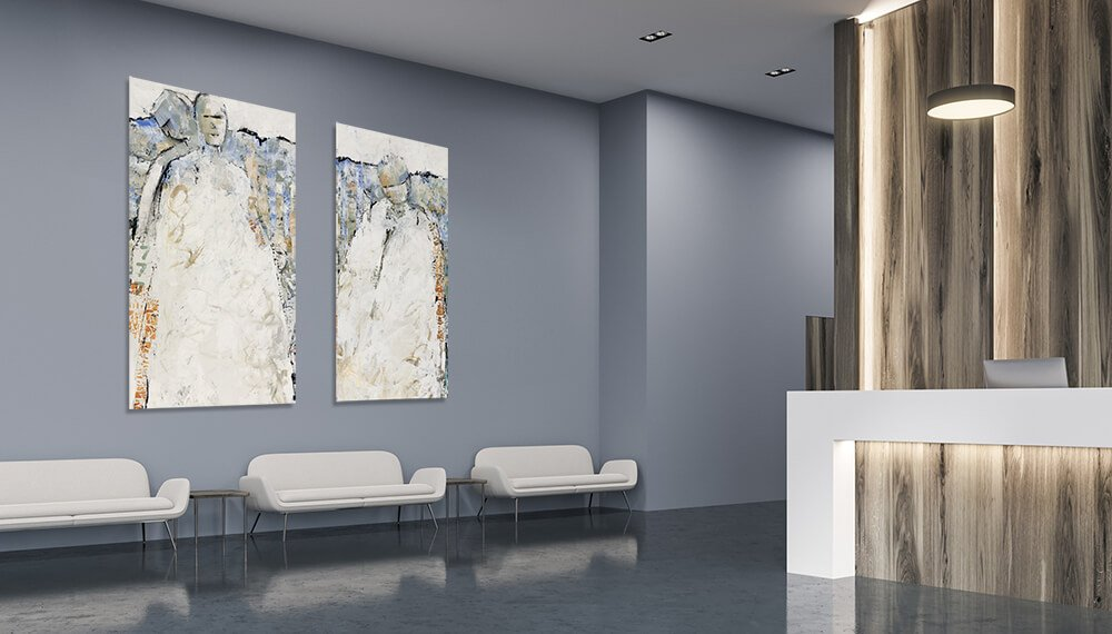 Hospitality and Corporate Art for REVEL arthouse