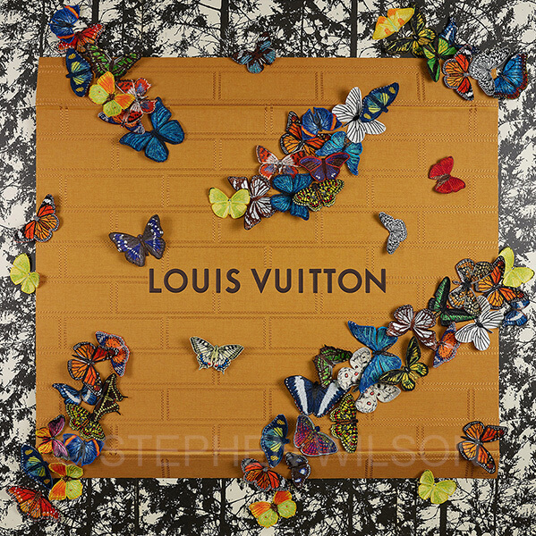 XXL Louis Vuitton Butterflies by Stephen Wilson